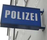 aa polizeischild la