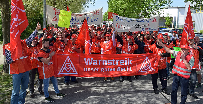 IG Metall Warnstreik