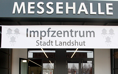 messe impfzentrum